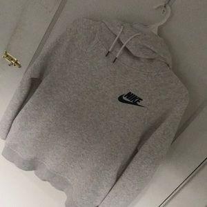 Nike Gray Pullover Sweatshirt